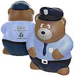 Police Bear Stress Balls